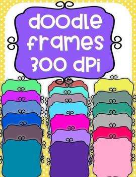 Doodle Frames - 20 total