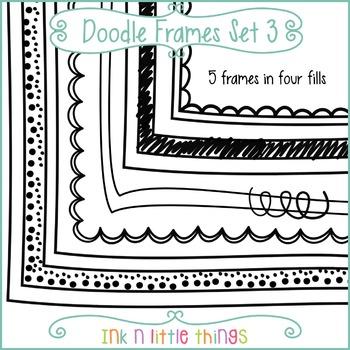 Doodle Frames 3