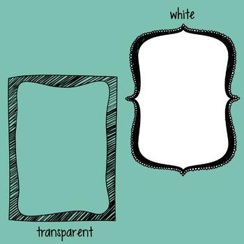 Doodle Frames 6
