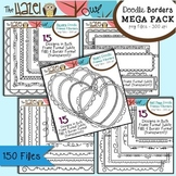Doodle Frames & Borders MEGA Pack {Save $7 by Purchasing 5