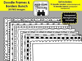Doodle Frames Bunch
