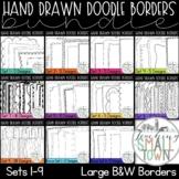 Doodle Borders Seller's BUNDLE // 9 Sets + 2 BONUS Sets //