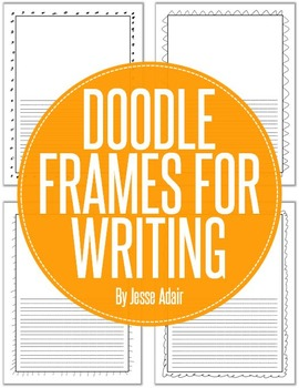 Doodle Frames For Writing FREEBIE
