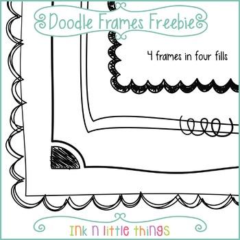 Doodle Frames Freebie