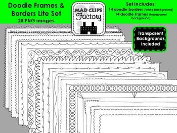 Doodle Frames Lite Set