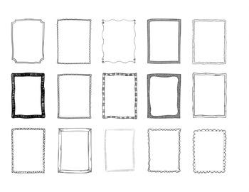 Frames / Borders - Doodle Frames Mega Bundle - 170 Frames / Borders