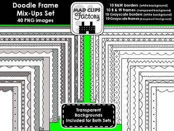 Doodle Frames Mix-Up Set
