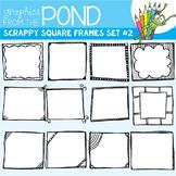 Doodle Frames {Scrappy Square Frames Set #2)
