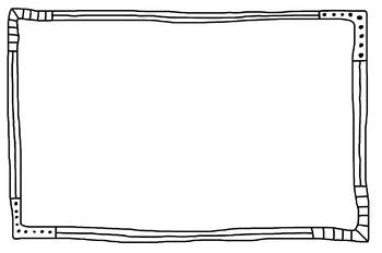 Doodle Frames Set #1