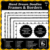 Doodle Frames and Borders Set 2