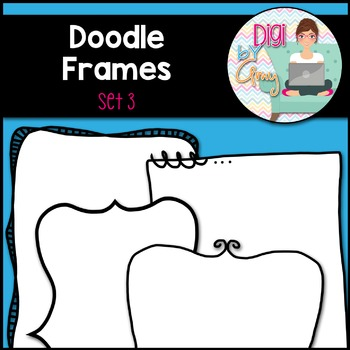 Doodle Frames and Borders clipart - Set 3
