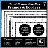 Doodle Frames and Borders Set 6