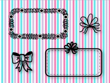 Doodle Frames and Coordinating Images~Clip Art