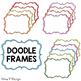 Doodle Frames set 4 - White Center