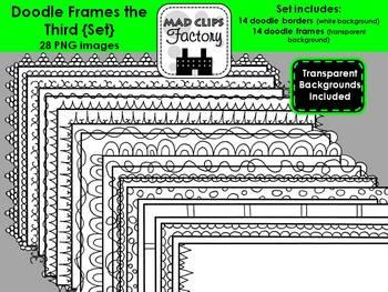 Doodle Frames the Third {Set}
