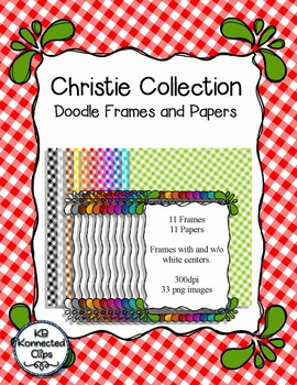Doodle Frames with Papers - The Christie Collection