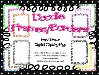 Doodle Frames/Borders