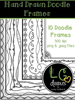 Hand Drawn Doodle Frames/Borders