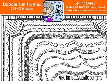 Doodle Fun Frames