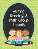 Doodle Group Labels Mini Pack