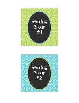 Doodle Group Labels Mini Pack