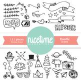 Doodle Icons - 111 Piece Set