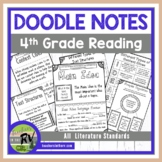Doodle Notes  |  Interactive Notebooks  |  4th Grade  |  R