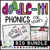 Doodle It Phonics - Blends, Digraphs, CVC Words, Vowels, Alphabet