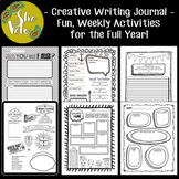 Doodle Journal with Creative Writing Prompts & Fun Activities