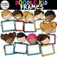 Doodle Kid Frames {Kid Clip Art with Frames}