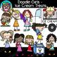 Doodle Kids Clip Art Bundle #1 {Scrappin Doodles Clipart}