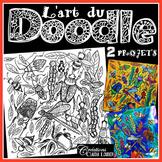 Doodle : L'art du Doodle, Arts plastiques, primaire et secondaire