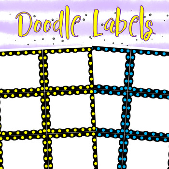 Doodle Labels 1 For your Classroom