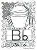 Manuscript Letter Posters- Hand Drawn Doodles