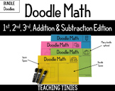 Doodle Math Addition/Subtraction BUNDLE