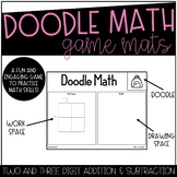 Doodle Math Addition/Subtraction Back to School Theme!!