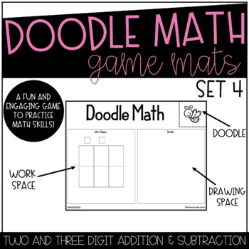 Doodle Math Addition/Subtraction Spring Theme!!