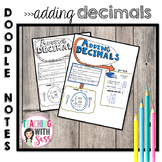 Doodle Math Notes: Adding Decimals
