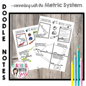 Doodle Math Notes: Converting with the Metric System