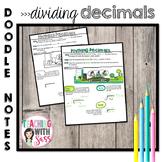 Doodle Math Notes: Dividing Decimals