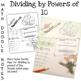 Doodle Math Notes:Dividing by Powers of Ten