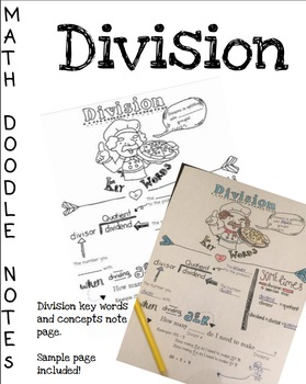 Doodle Math Notes:Division