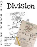 Doodle Math Notes:Division