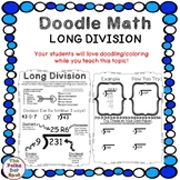 Doodle Math Notes- Long Division