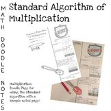 Doodle Math Notes:Standard Algorithm of Multiplication