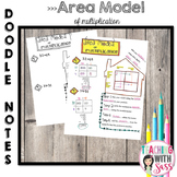 Doodle Math Notes:Area Model of Multiplication