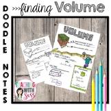 Doodle Math Notes: Volume