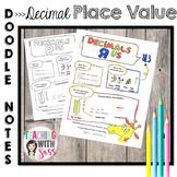 Doodle Math Notes:What is a Decimal? Decimal Place Value