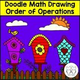 Order of Operations Math Art Activity 4th grade