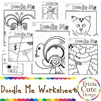 Doodling Worksheet